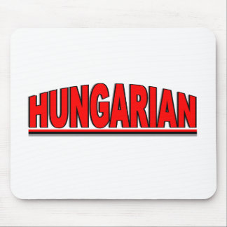 """Nationalities - """"Hungarian"""" Mouse Mat"""