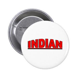 "Nationalities - ""Indian"" 6 Cm Round Badge"