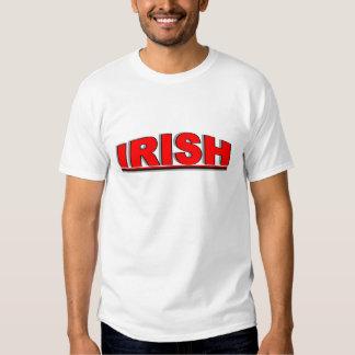 """Nationalities - """"Irish"""" Tee Shirts"""