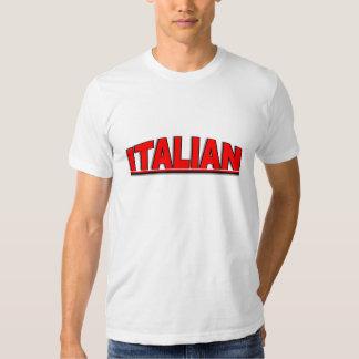 "Nationalities - ""Italian"" Tee Shirts"