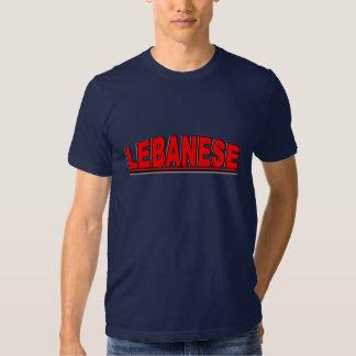 "Nationalities - ""Lebanese"" T Shirt"