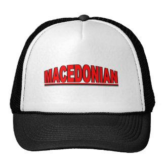 "Nationalities - ""Macedonian"" Cap"