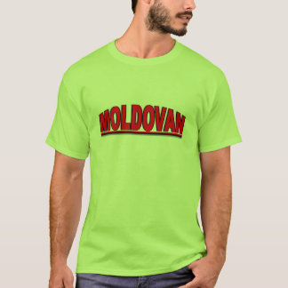"Nationalities - ""Moldovan"" T-Shirt"
