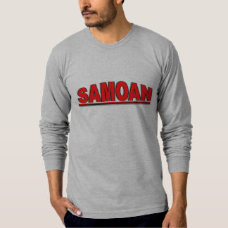 "Nationalities - ""Samoan"" T-Shirt"