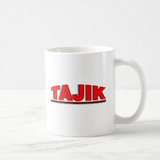 "Nationalities - ""Tajik"" Basic White Mug"
