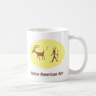 Native American Art, Petroglyphs Coffee Mugs