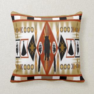 Native American Bear Clan Pillow Cushions