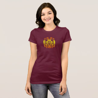Native American Bird in Reflection T-Shirt