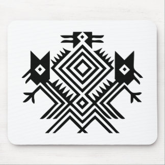 Native American Bird Mouse Pad