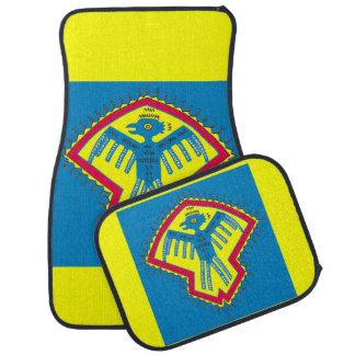 Native American bird symbol Car Mat
