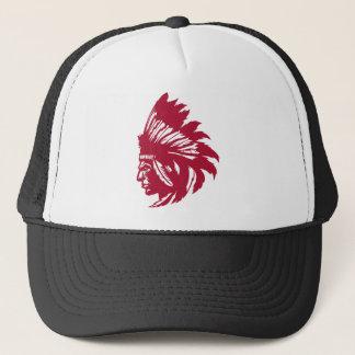 Native American Bird Trucker Hat