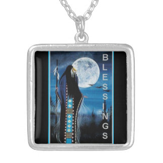 NATIVE AMERICAN BLESSINGS  NECKLACE