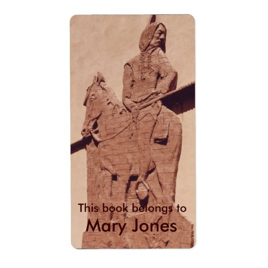 Native American Bookplate