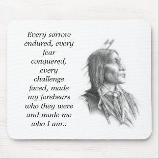 Native American Bound Mousepad