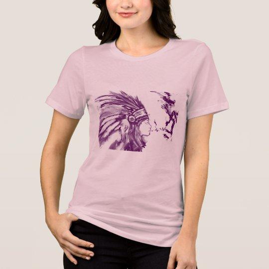 Native American Brave Woman T-shirt