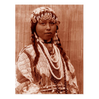 Native American Bride Post Cards