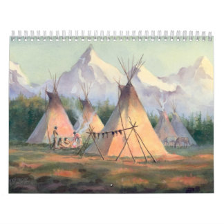 NATIVE AMERICAN CALENDAR 2017 by SHARON SHARPE