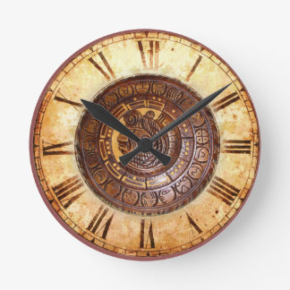 Native American Calendar Wall Clock