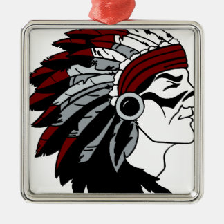 Native American Chief Christmas Ornament