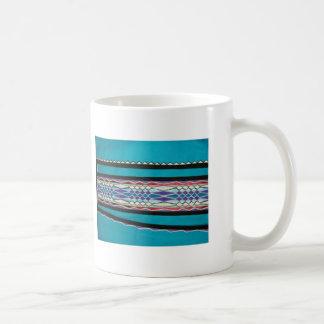 native american church ribbon work classic white coffee mug