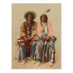 Native American Couple, 1899