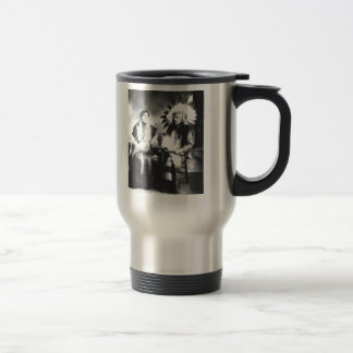 Native American Couple Mug