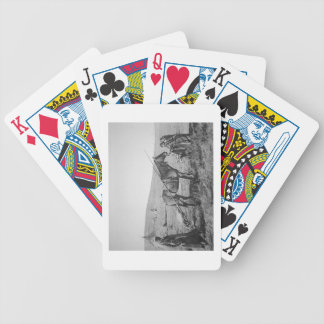 Native American Cree people of Western Canada, c.1 Bicycle Playing Cards