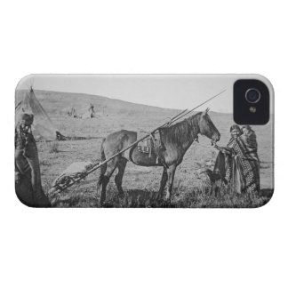 Native American Cree people of Western Canada, c.1 iPhone 4 Case