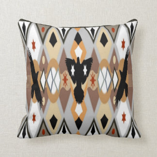 Native American Crow Pillows
