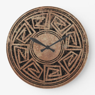 Native American Design 2 Wallclock