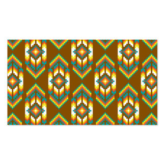 Native American Design Earth.png Pack Of Standard Business Cards