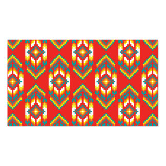 Native American Design Fire Pack Of Standard Business Cards