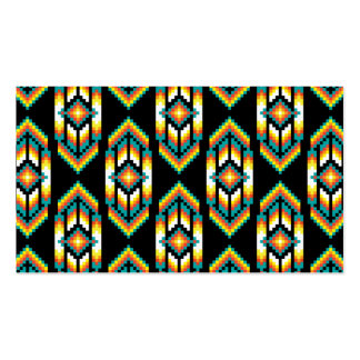 Native American Design Midnight.png Double-Sided Standard Business Cards (Pack Of 100)