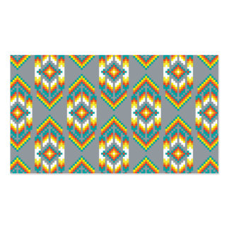 Native American Design Smoke Double-Sided Standard Business Cards (Pack Of 100)