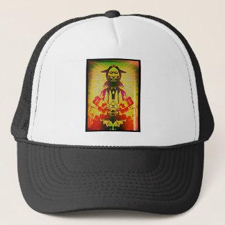 native american design trucker hat