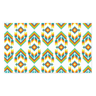 Native American Design White.png Pack Of Standard Business Cards