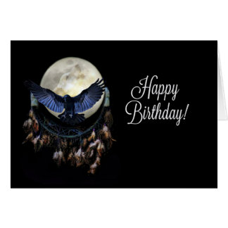 Native American Dream Catcher Birthday Card