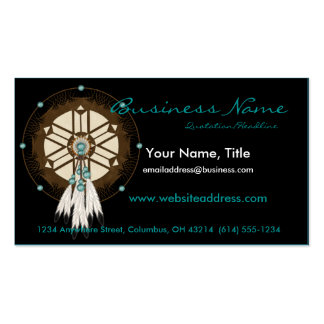 Native American Dreamcatcher D1 Business Cards