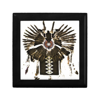 Native American Feathers Gifts and Apparel Small Square Gift Box