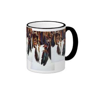 Native American Feathers Coffee Mug