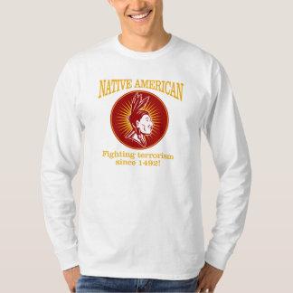 Native American (Fighting Terrorism) T-Shirt