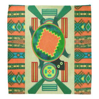 Native American Folk Art Turtle Kerchiefs