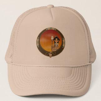 Native American Girl Trucker Hat