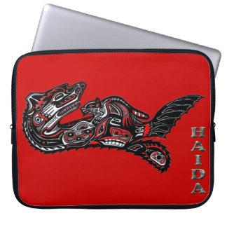 Native American Haida Otter Art Laptop Sleeve