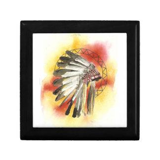 Native American Headresss Gift Box