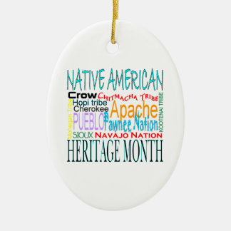 Native American Heritage Month Christmas Ornament