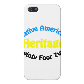 Native American Heritage - Twinty Foor 7ven iPhone 5 Covers