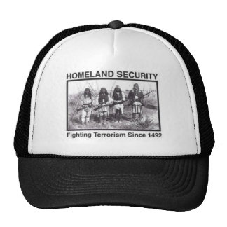 Native American Homeland Security T-shirts Cap