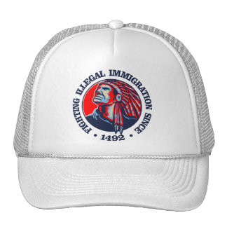 Native American (Illegal Immigration) Cap