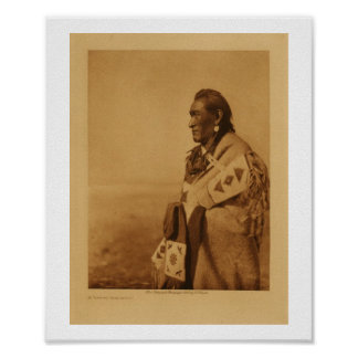 Native American Indian Blackfoot Art Print Poster